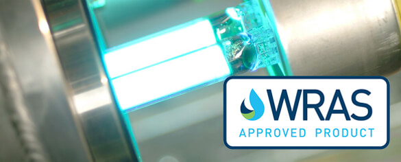UV lamp w/ WRAS logo
