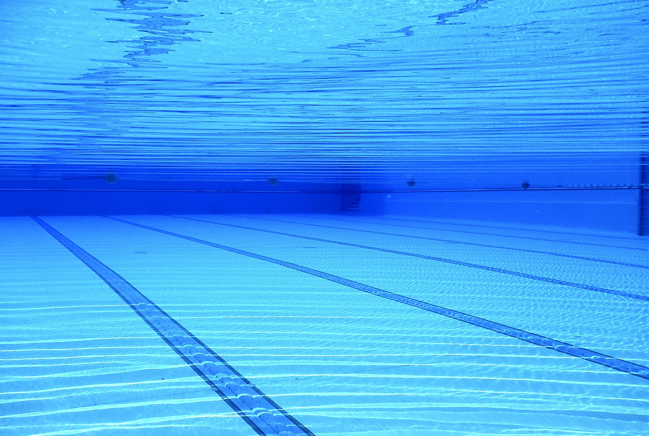 Swimming Pool with UV Water Treatment